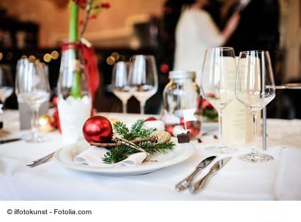 Verhalten auf der Weihnachtsfeier